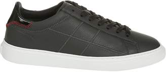 Hogan Low-top Stitched Detail Sneakers