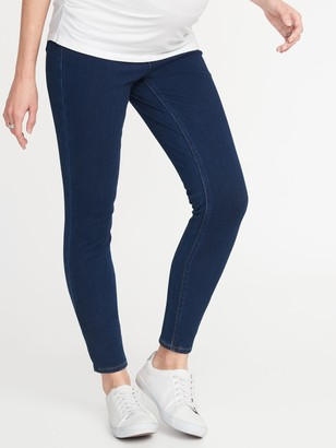 Old Navy Maternity Front Low-Panel Rockstar 24/7 Sculpt Jeggings