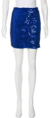 Balmain Embellished Mini Skirt
