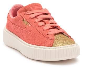 16980b6ff390 Puma Suede Platform Glam PS Sneaker (Toddler