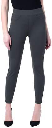 Liverpool Sienna Pull-On Dark Green Legging