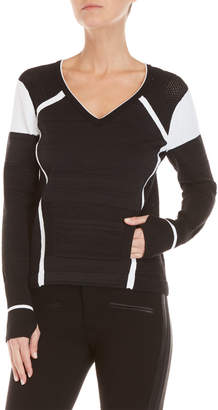 Blanc Noir Complete V-Neck Sweater