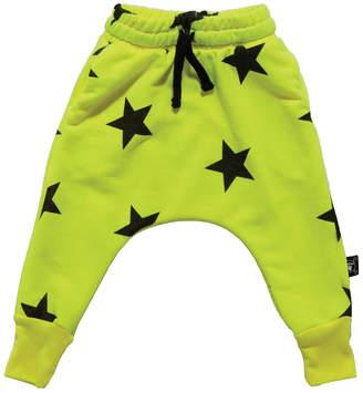 Nununu Neon Star Baggy Pants