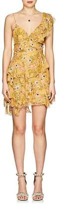 Isabel Marant Women's Manda Floral Silk-Blend Minidress