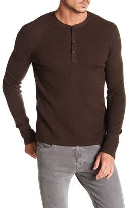 Rag & Bone Gregory Wool Blend Thermal Henley