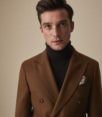 Reiss MAGNUM DOUBLE BREASTED BLAZER Copper