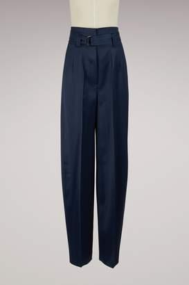Pallas Satin belted pants