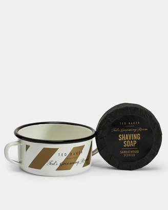 Ted Baker SOAPBOW Shaving bowl and soap set