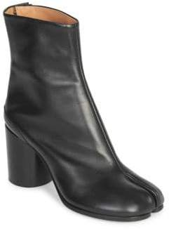 Maison Margiela Leather Split Toe Booties