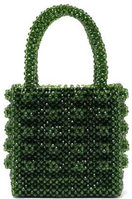Shrimps - Antonia Emerald Crystal Embellished Bag - Womens - Green