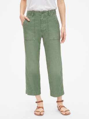 Gap High Rise Straight Crop Chino Pants