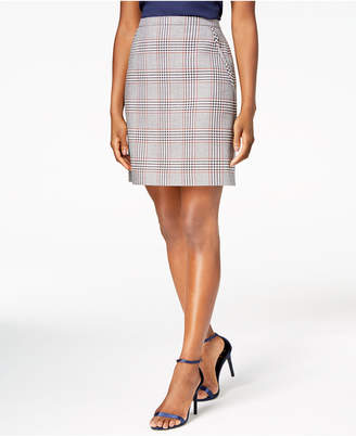 Anne Klein Plaid Skirt, Created for Macy's