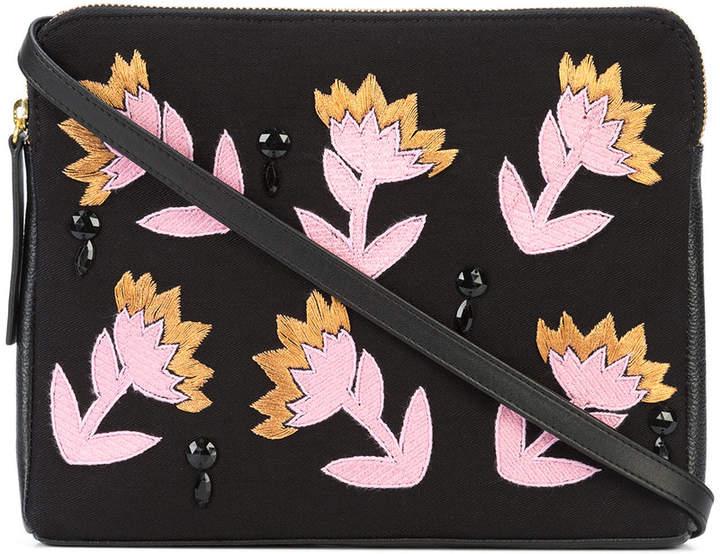 Lizzie Fortunato Electric Daisy clutch