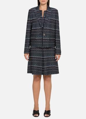 St. John Texture Boucle Tweed Jacket