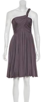 Derek Lam One-Shoulder Mini Dress