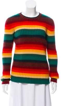 No.21 No. 21 Striped Wool Sweater