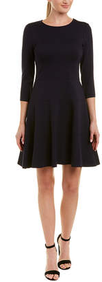 Three Dots Ponte A-Line Dress