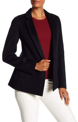 Theory Pleated Back Wool & Cashmere Blend Jacket