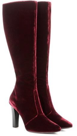 Saint LaurentSaint Laurent Lily 95 Velvet Boots