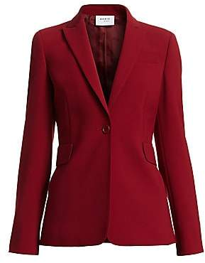 Akris Punto Women's Single-Button Jersey Blazer