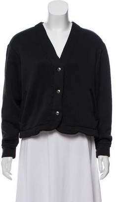 MAISON KITSUNÉ Cropped Button-Up Cardigan