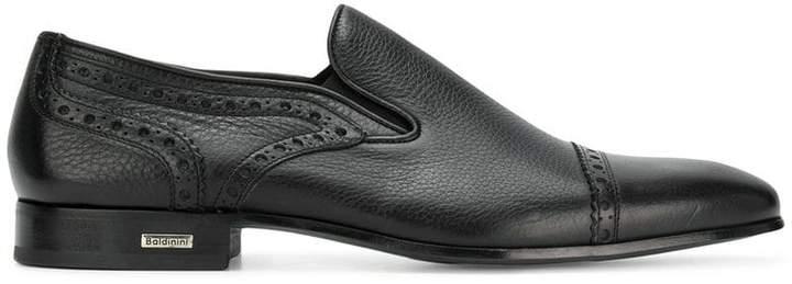 Baldinini classic embroidered loafers