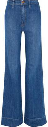 Alice + Olivia Ao.la By Gorgeous High-Rise Flared Jeans