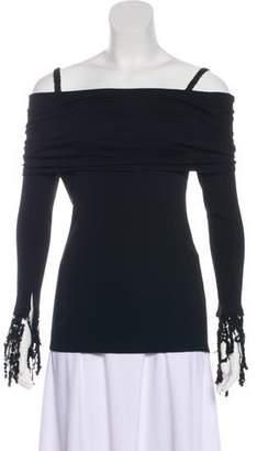 Isa Arfen Wool Embellished Top