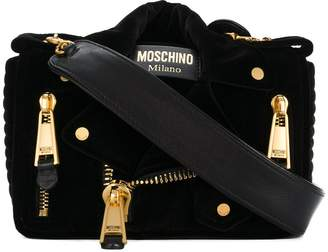 Moschino small biker shoulder bag