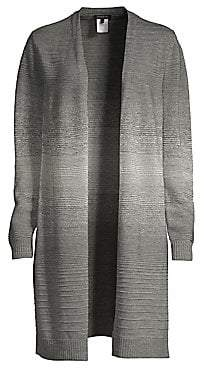 Lafayette 148 New York Women's Metallic Ombre Cardigan