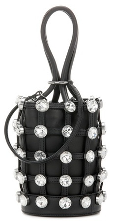 Alexander WangAlexander Wang Embellished leather bucket bag