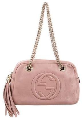 8ce728e3fb Gucci Shoulder Bag With Chain Strap - ShopStyle