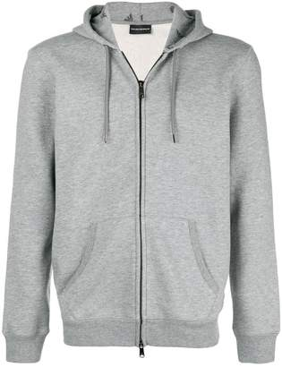 Emporio Armani basic hooded jacket
