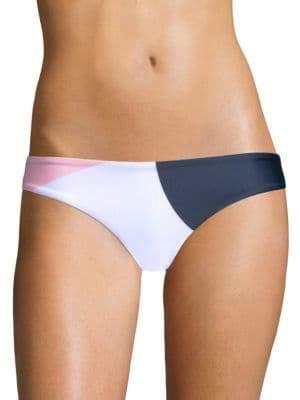 Mara Hoffman Zoa Colorblock Bikini Bottoms