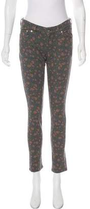 Muveil Low-Rise Printed Jeans