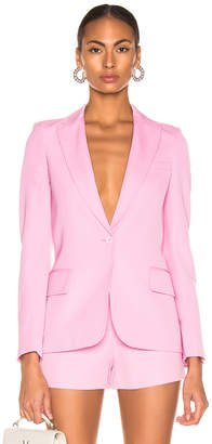 Stella McCartney One Button Blazer in Tulip Pink | FWRD