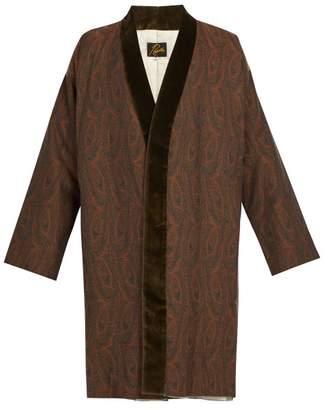 Needles - Paisley Kimono Coat - Mens - Brown