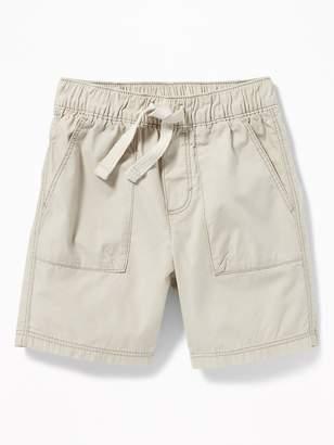 Old Navy Pull-On Poplin Shorts for Toddler Boys