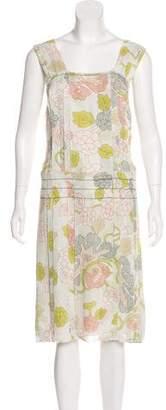 Bottega Veneta Floral Print Dress