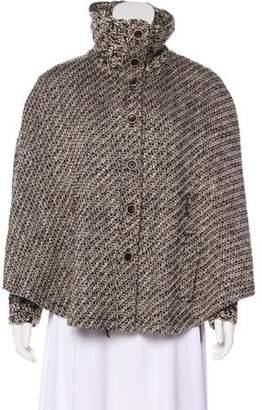 Rena Lange Virgin Wool-Blend Poncho