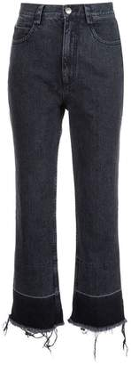 Rachel Comey frayed cropped jeans