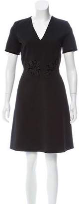 Raoul Embroidered Short Sleeve Dress w/ Tags