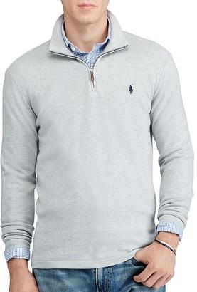 Polo Ralph Lauren Cashmere Touch Half Zip Sweater $145 thestylecure.com