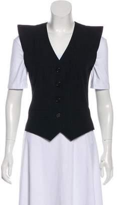 Marc Jacobs Wool Button-Up Vest