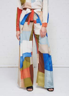 Rosetta Getty Apron Wrap Trousers