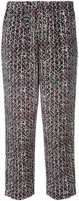 Marni Cosmos cropped trousers