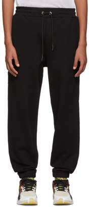 McQ Black Stripe Lounge Pants
