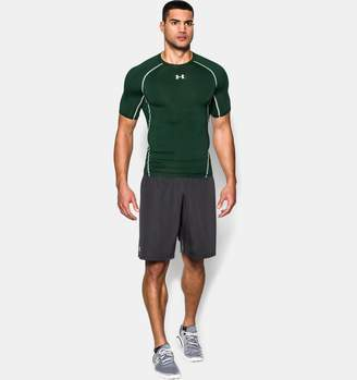 Under Armour Men's UA HeatGear Armour Short Sleeve Compression Shirt