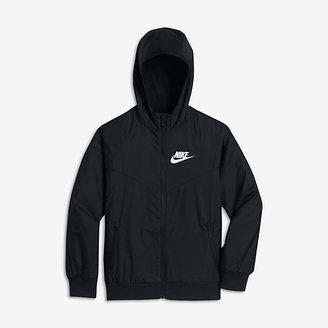 Nike Sportswear Windrunner Big Kids' (Boys') Jacket $65 thestylecure.com