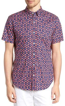 Bonobos Riviera Slim Fit Watermelon Print Sport Shirt
